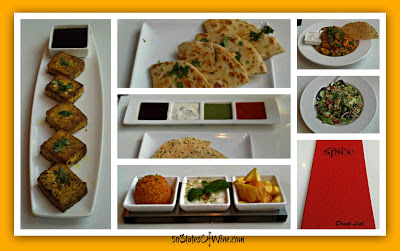 Bombay Spice Chicago Food Collage