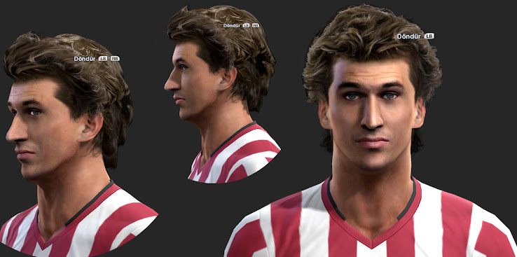 PES 2013 Llorente Face by ilhan & M4rc310