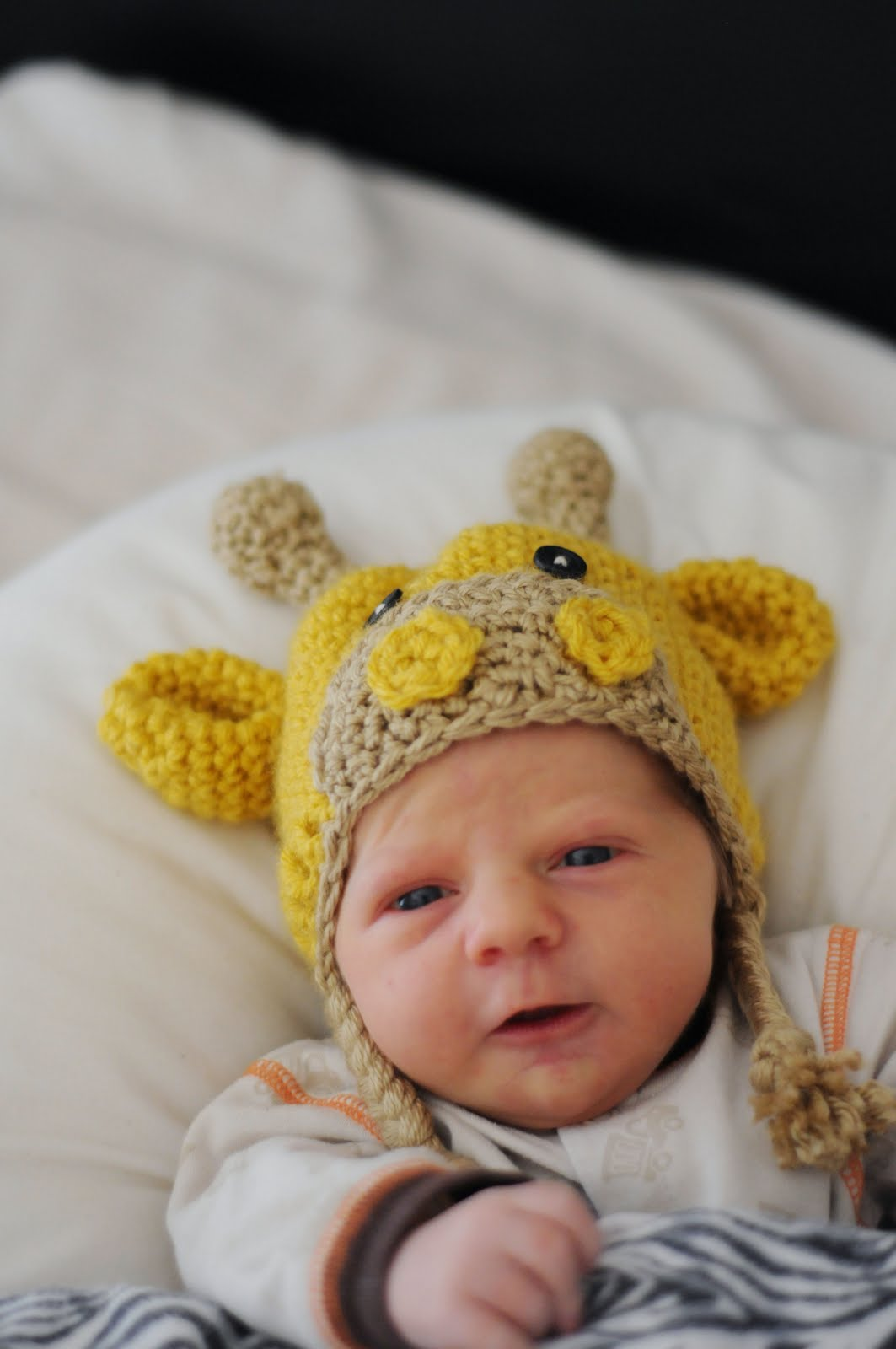 Crochet Pattern Central Baby Hats : crochet baby giraffe hat pattern ? Tonyas blog