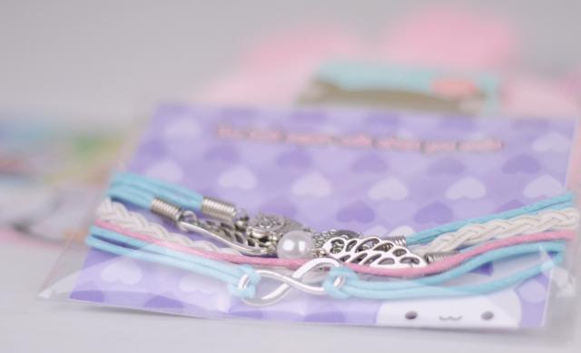 Snitch pastel owl bracelet