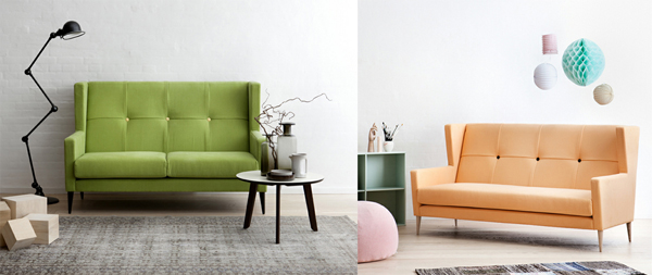 life as a moodboard: Scandinavian style - high back sofa trend
