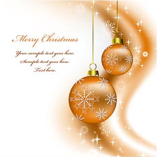 美しいクリスマス ボールの背景 christmas  decorative balls background イラスト素材2