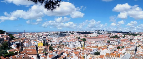 Lisbonne Lisboa belvédère mirador da graça