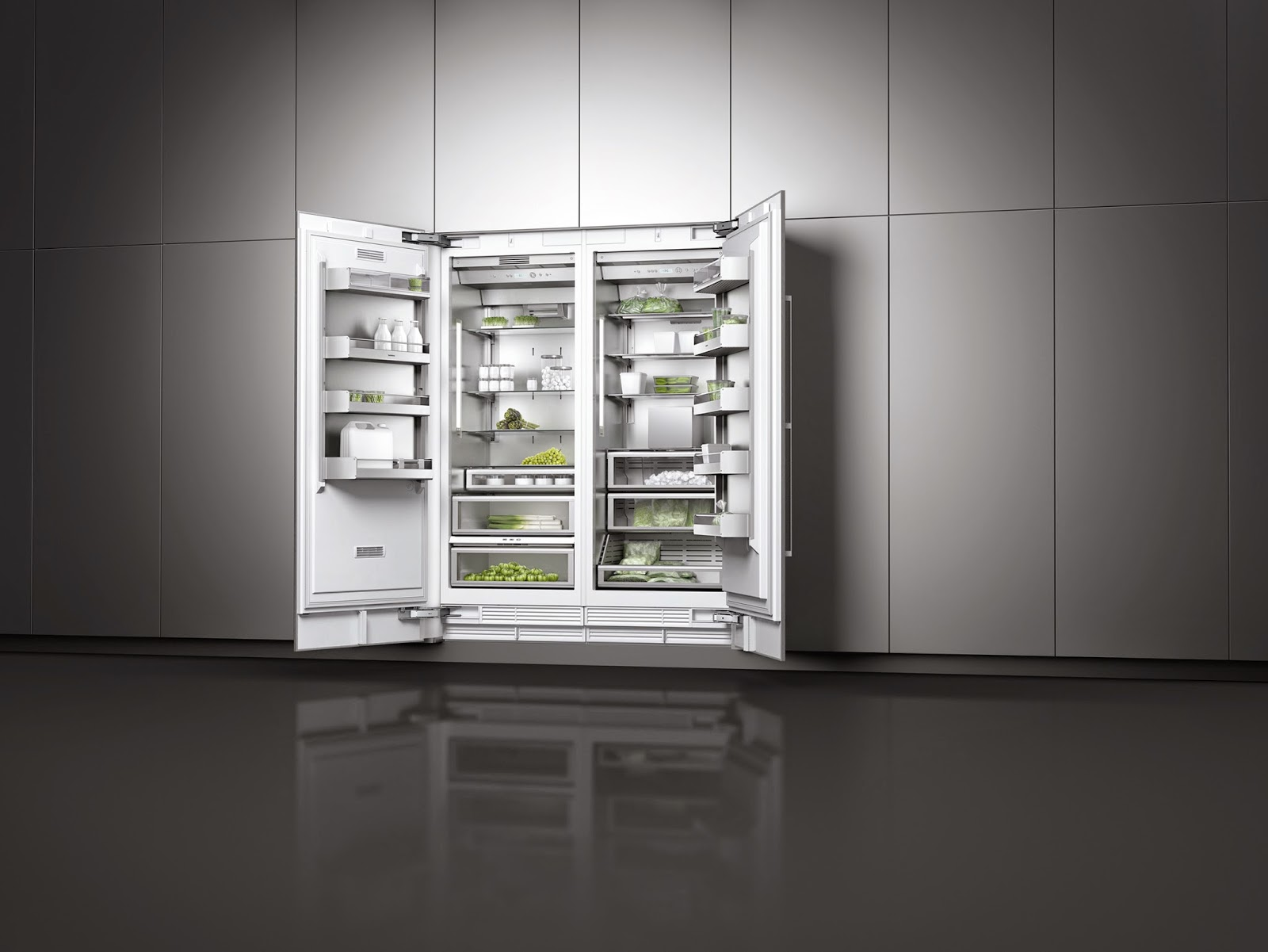 the new gaggenau vario cooling 400 series a taste of goodness. Black Bedroom Furniture Sets. Home Design Ideas