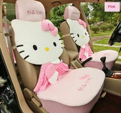 Car interior decoration ideas and designs | women driving car decors | cute car seat designs for women car owners