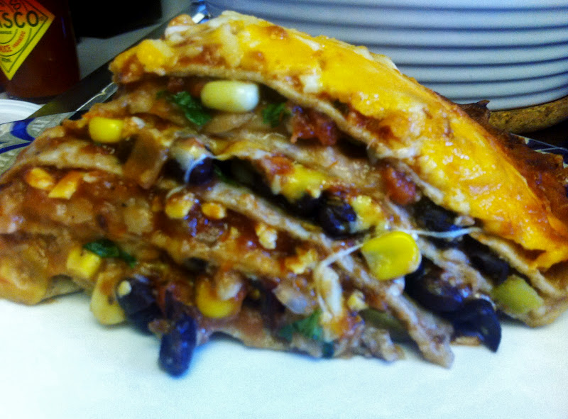 Seven Layer Tortilla Pie Recipes — Dishmaps