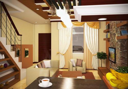desain interior ruang tamu pictures