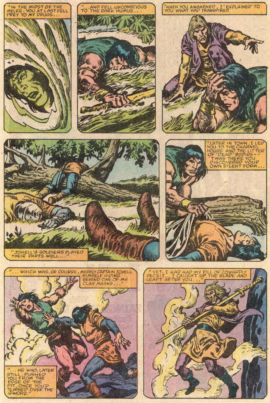 Conan the Barbarian (1970) Issue #144 #156 - English 11