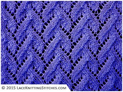 Lace Chart 11 Lace Knitting Stitches
