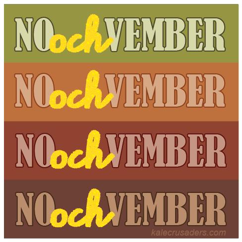 NOochVEMBER, NOOCHvember, #NOOCHvember, Nutritional Yeast November, Nooch November