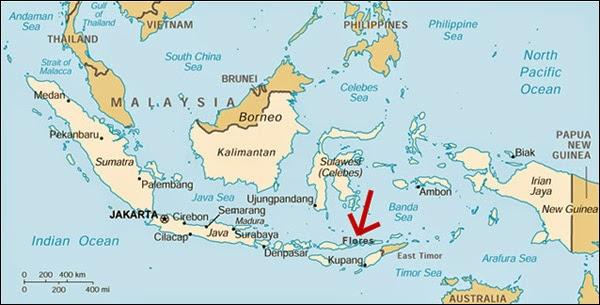 Greater Sunda Islands On Map Of Asia
