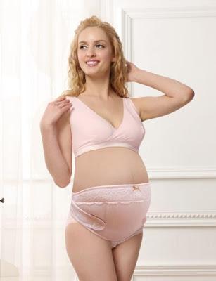 Dùng đai đỡ bụng để chống đau lưng cho bà bầu
