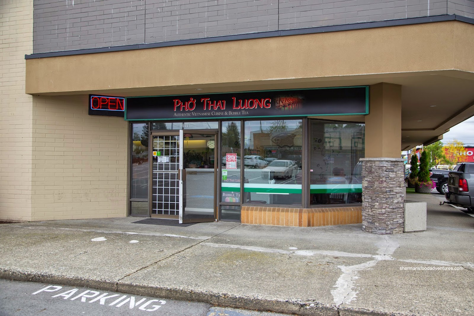 Here we go again... The turnstile of restaurants otherwise known as that hidden location inside the plaza on the Southwest corner of Nordel and Scott Road ... & Shermanu0027s Food Adventures: Pho Thai Luong