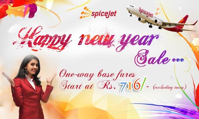 SPICEJET - HAPPY NEW YEAR SALE....