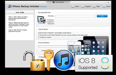 Tenorshare iPhone Backup Unlocker incl Crack