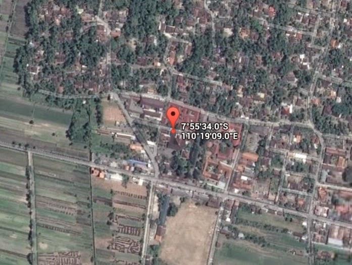 Koordinat Lokasi Gereja Ganjuran_siparjo.com