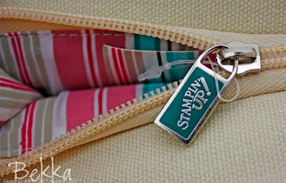 Stampin' Up! Exclusive Cosmetic Bag Free Gifts
