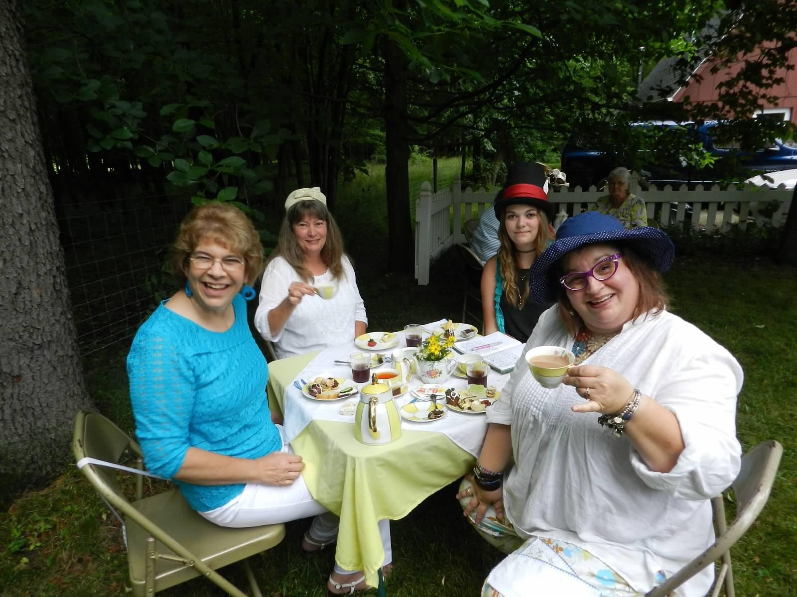 Garden Tea 2016