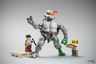 Samsofy, Legographie, Legografía, Miguel Ángel, Michelangelo