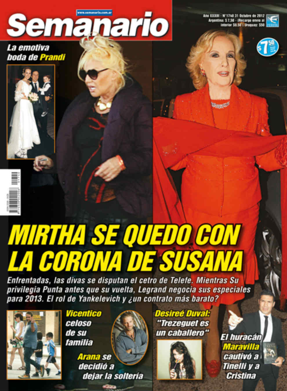 Pasando revista susana mirtha y el cetro de telefe el for Revistas de chismes del espectaculo