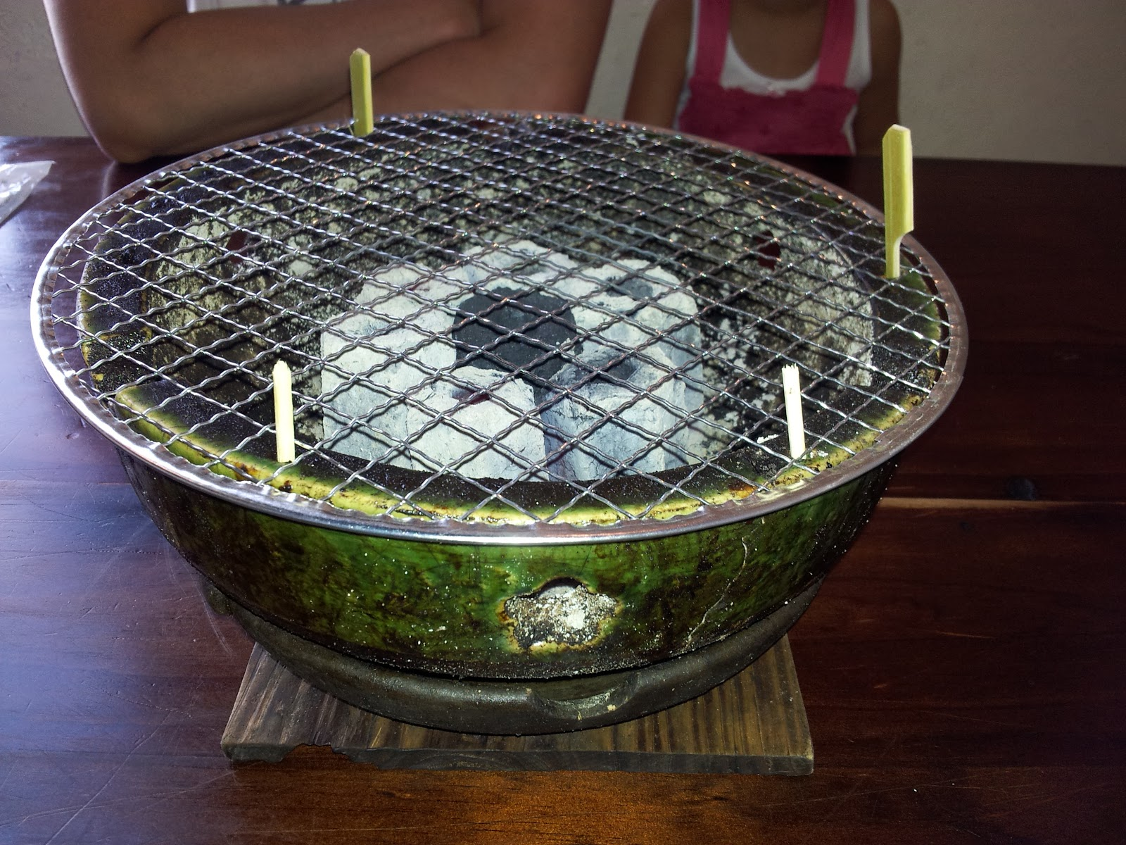 Amazing Tabletop Charcoal Grill