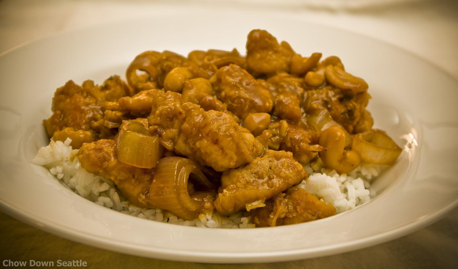 Chow Down Seattle: RECIPE: Ginger Orange Cashew Chicken