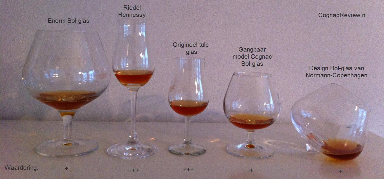 Tulipanglass cognac