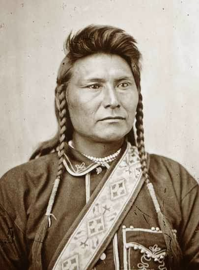 A Young Chief Joseph
