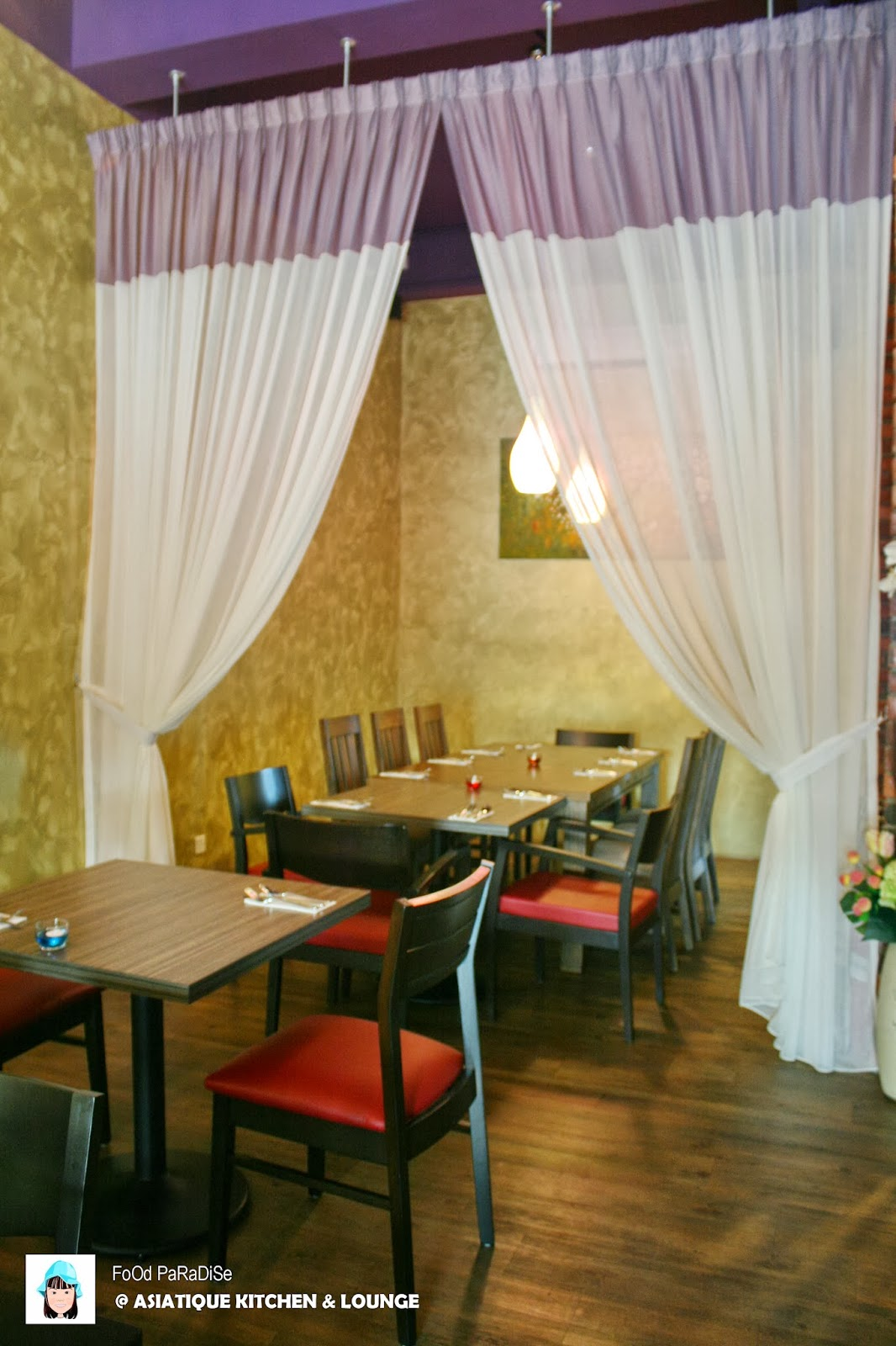 ASIATIQUE Kitchen & LOUNGE