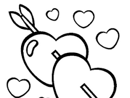 Cupid Clip Art Coloring Pages