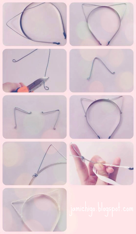 How To Make Cat Ears Headband Diy
