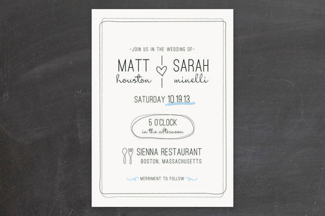 A Bit of Flair: Unique Wedding Invitations