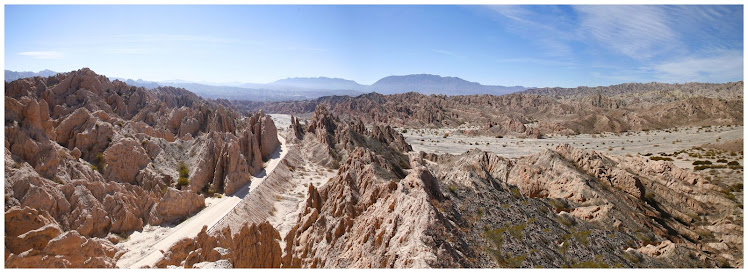 Quebrada de las Flechas,Ruta Nacional Nº40 - Angastaco, ARGENTINA