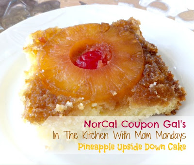 In The Kitchen With Mom Mondays &#8211; Pineapple upside down cake