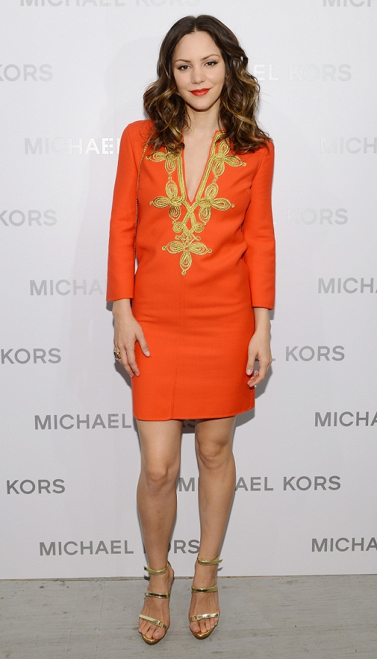 Katharine Mcphee Au Michael Kors Fashion Show à New York   12092012