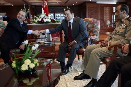 Mubarak Quits