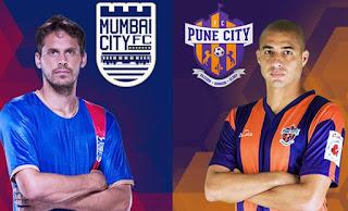 FC Pune City Vs Mumbai City FC Live Streaming ISL 2017