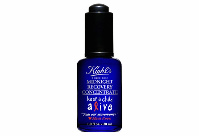 KIEHLS AND ALICIA KEYS MIDNIGHT RECOVERY CONCENTRATE