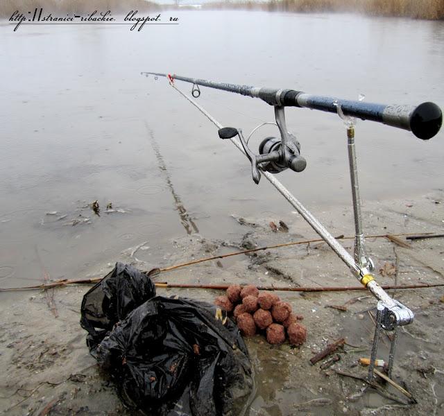 зимняя рыбалка на Аксае