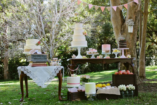 Wild Backyard Party :  sweet treats for this beautiful spring garden party as told by Alison