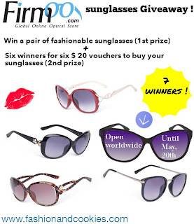 Firmoo sunglasses giveaway on Fashion and Cookies