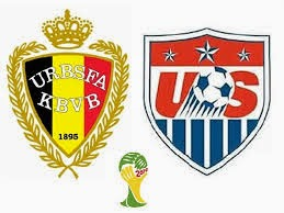 Bélgica 2 - 1 EE.UU.