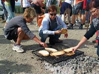 Torrant-se el pa per l'esmorzar