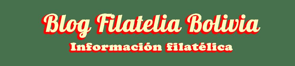 Filatelia Bolivia
