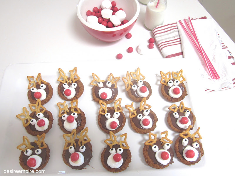 Desire Empire Reindeer Cookies