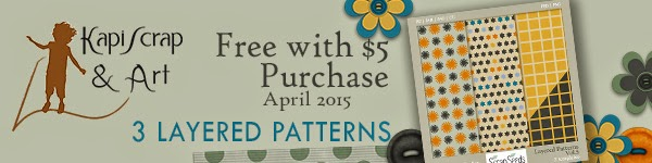 Free With $5 Purchase at ScrapSeeds