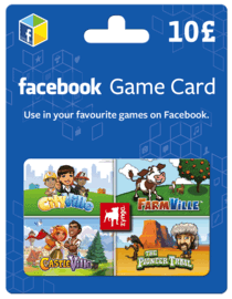 Earn £10 Facebook game card
