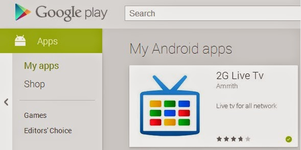 Google Play My Apps