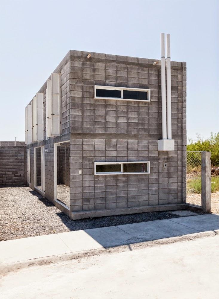 Vivienda Social - Casa Caja en Monterrey México | [ Arte+ ]