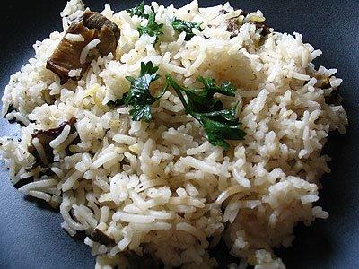 Buttered Mushroom Rice